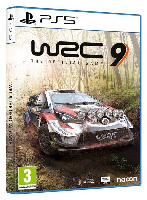 jaquette WRC 9