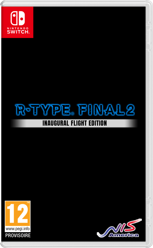 jaquette R-Type Final 2 Edition Inaugural Flight