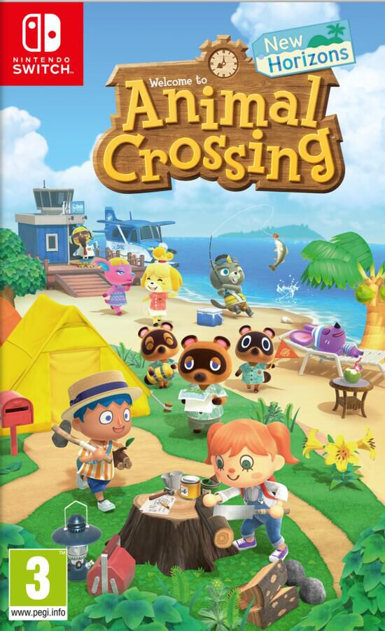 jaquette Animal Crossing New Horizons