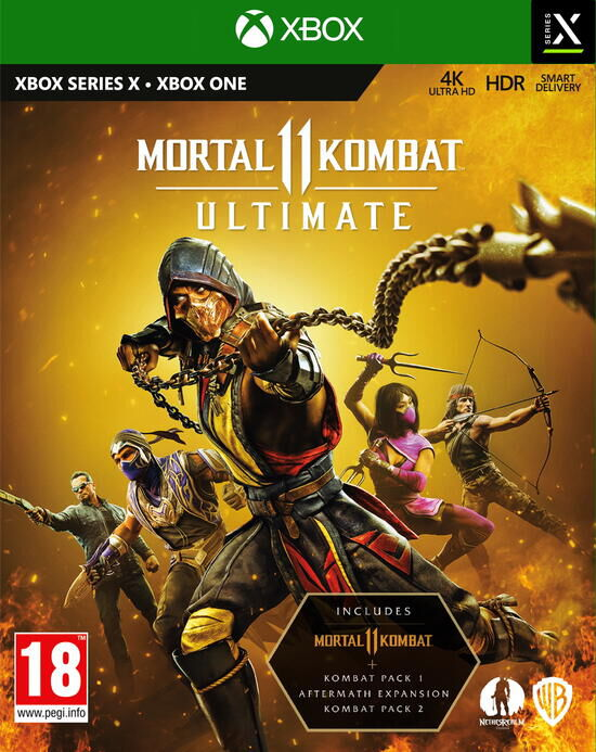 jaquette Mortal kombat 11 ultimate