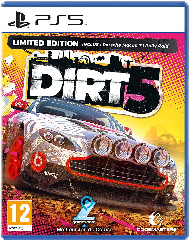 jaquette Dirt 5