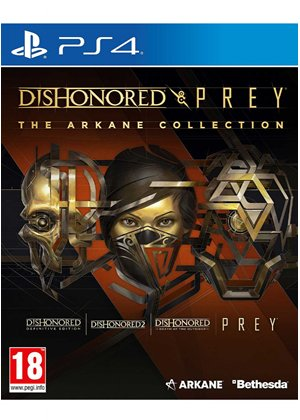 jaquette Dishonored and Prey: The Arkane Collection