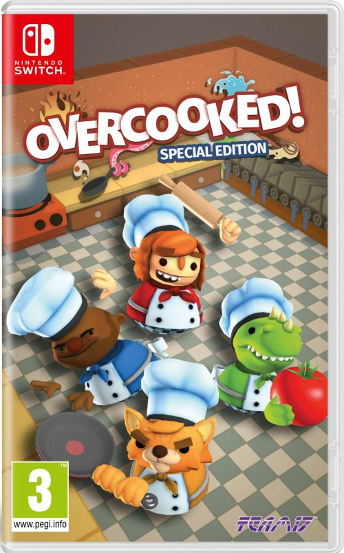 jaquette Overcooked ! Edition Spéciale