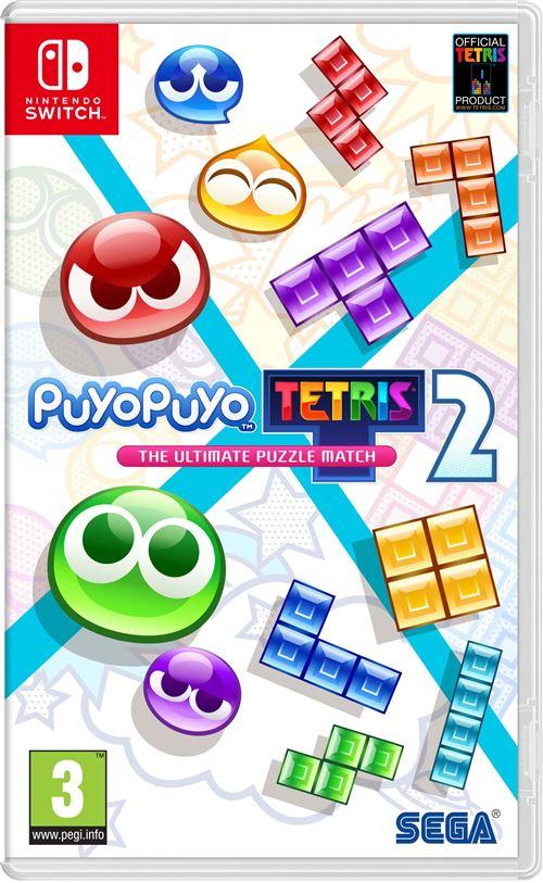 jaquette Puyo Puyo Tetris 2