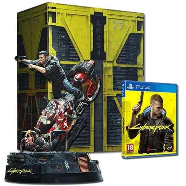 jaquette Cyberpunk 2077 Edition collector