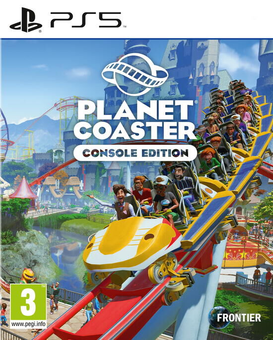 jaquette Planet Coaster Console Edition