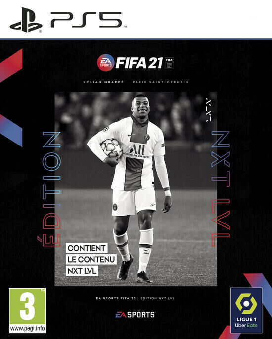 jaquette FIFA 21 Edition Next Level