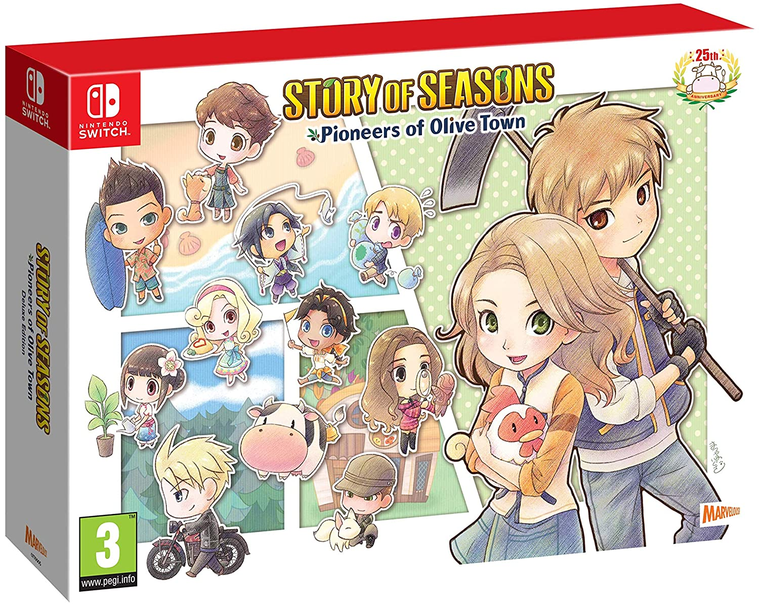 jaquette Story Of Seasons Pioneers of Olive Town Deluxe Edition