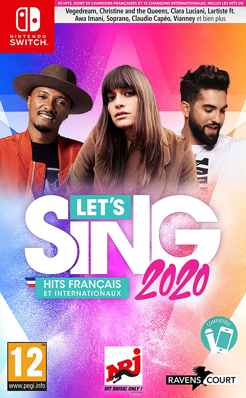 jaquette Let's Sing 2020 : Hits Français et Internationaux