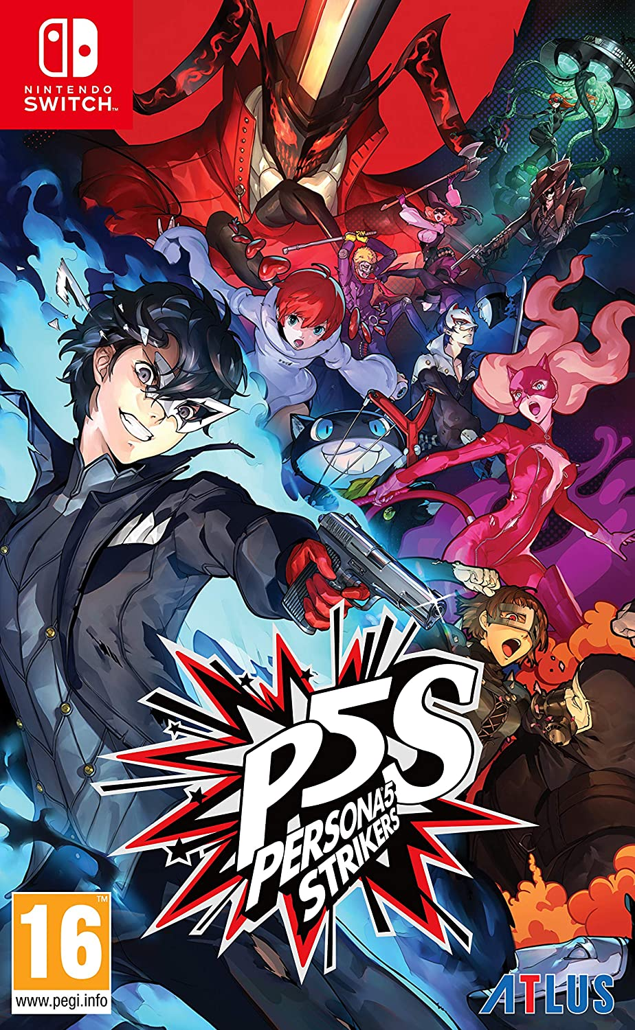 jaquette Persona 5 Strikers