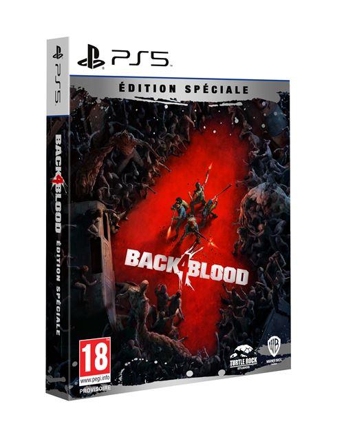 jaquette Back 4 Blood Edition Spéciale