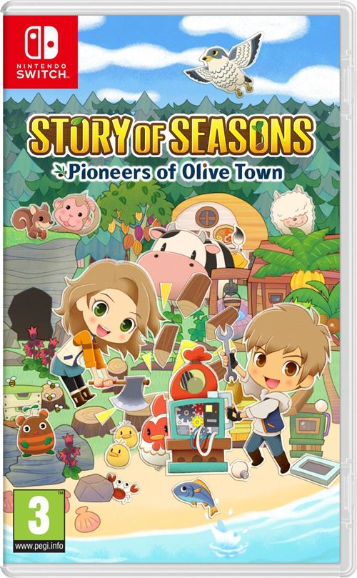 jaquette Story Of Seasons Pioneers of Olive Town