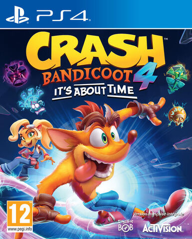 jaquette Crash Bandicoot 4 It's About Time