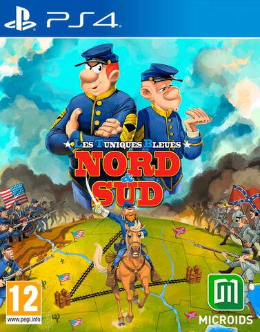 jaquette Les Tuniques Bleues Nord & Sud