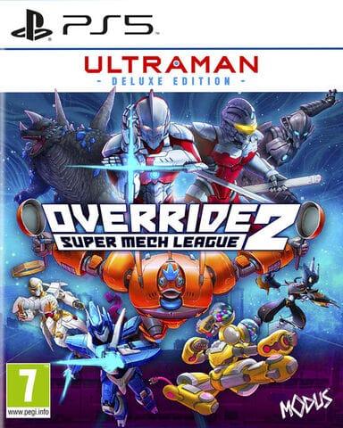 jaquette Override 2 Ultraman Deluxe Edition