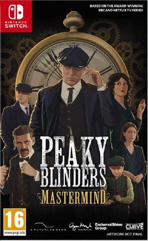 jaquette Peaky Blinders Mastermind