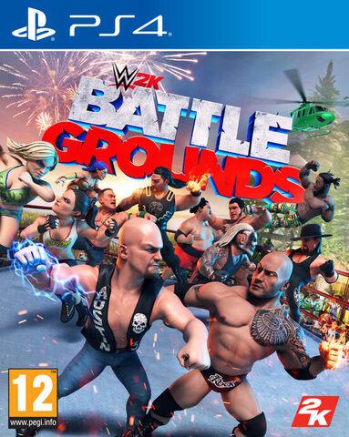 jaquette Wwe 2k Battlegrounds