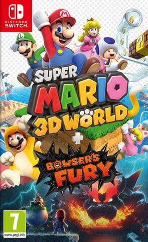 jaquette Super Mario 3d World+bowser's Fury