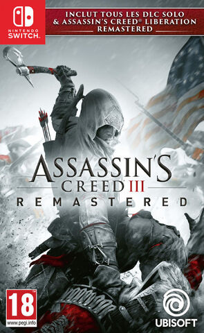 jaquette Assassin's Creed 3 + Assassin's Creed Liberation REMASTERED