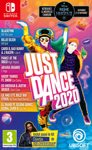 jaquette Just Dance 2020