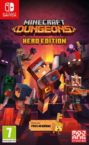 jaquette Minecraft Dungeons Hero Edition