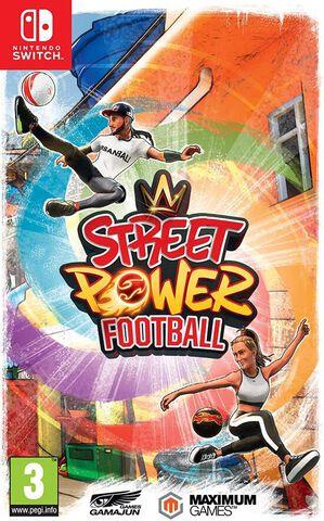 jaquette Street Power Football