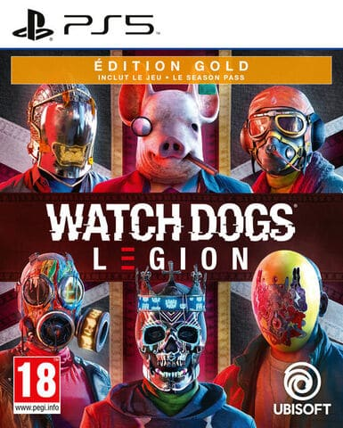 jaquette Watch Dogs Legion Edition Gold
