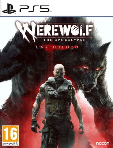 jaquette Werewolf The Apocalypse Earthblood