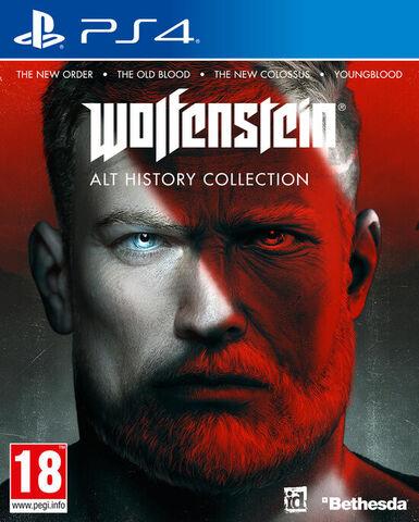 jaquette Wolfenstein Alt History Collection