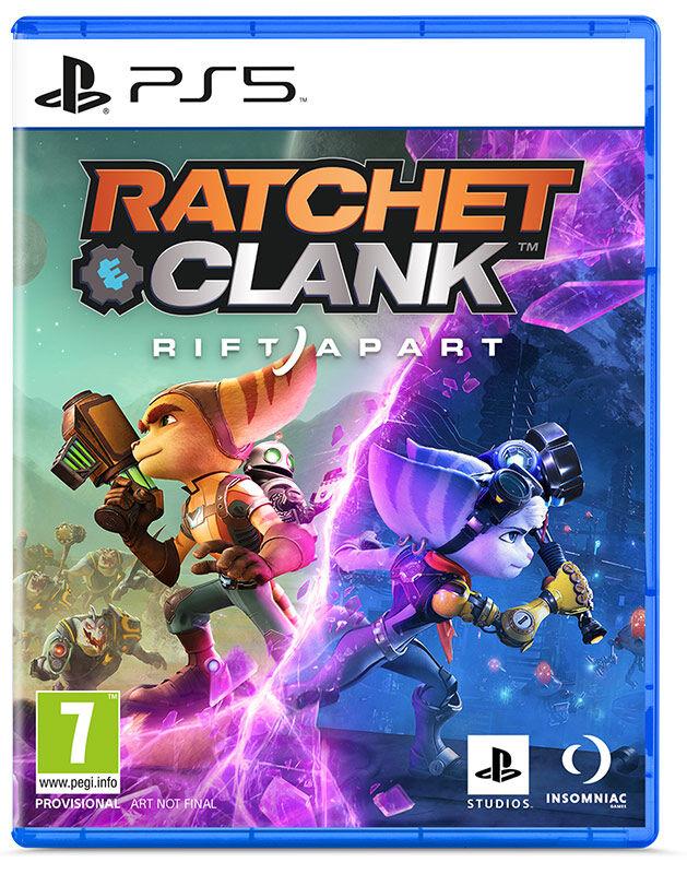 jaquette Ratchet & Clank : Rift Apart