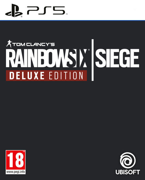 jaquette Rainbow Six Siege Edition Deluxe