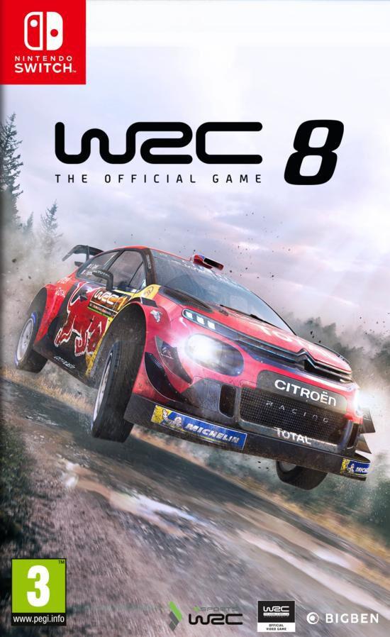 jaquette WRC 8