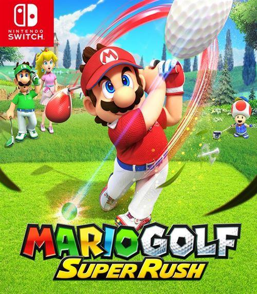 jaquette Mario Golf: Super Rush