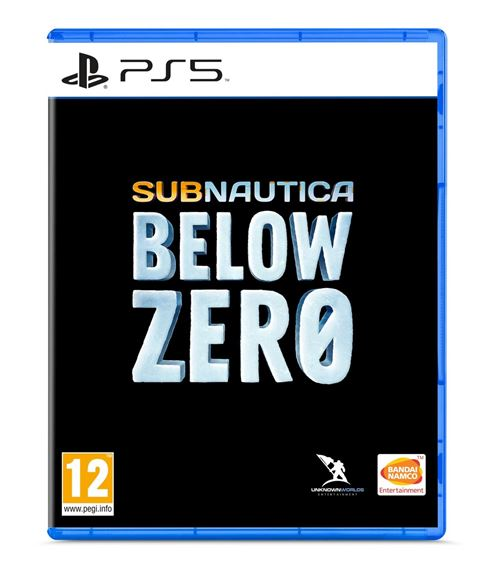 jaquette Subnautica Below Zero