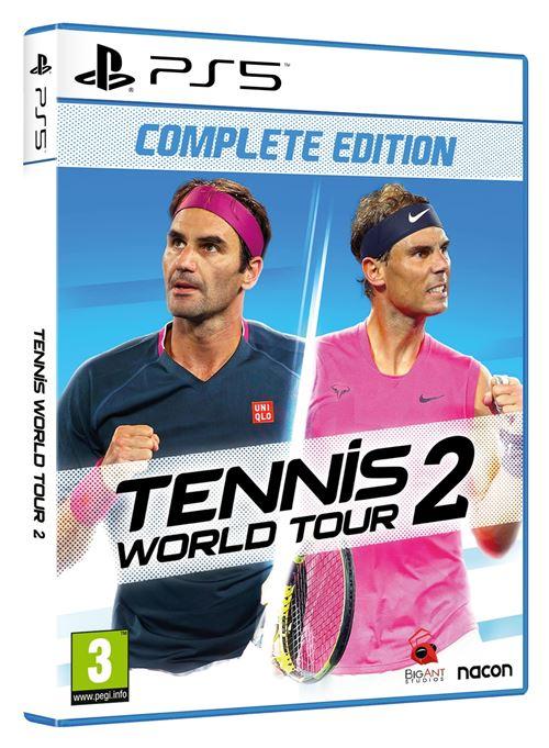 jaquette Tennis World Tour 2