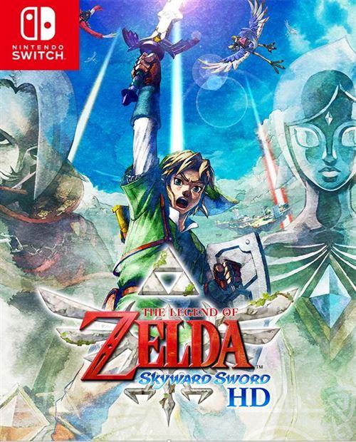 jaquette The Legend of Zelda: Skyward Sword HD