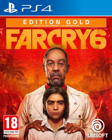 jaquette Far Cry 6 Edition Gold