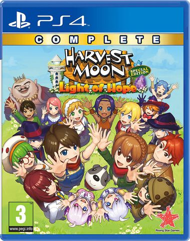 jaquette Harvest Moon Light Of Hope Complete Special Edition