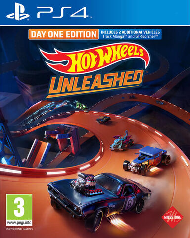 jaquette Hot Wheels Unleashed Day One Edition