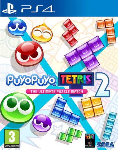 jaquette Puyo Puyo Tetris 2 - Launch Edition