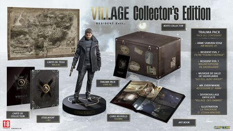 jaquette Resident Evil Village Collector Edition