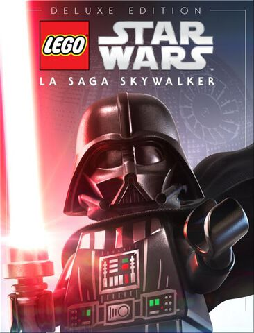 jaquette Lego Star Wars La Saga Skywalker Deluxe Edition