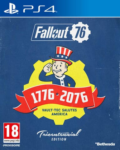 jaquette Fallout 76 : Wastelanders - Tricentennial Edition