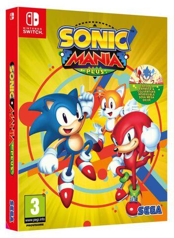 jaquette Sonic Mania Plus