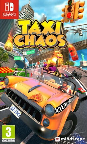 jaquette Taxi Chaos