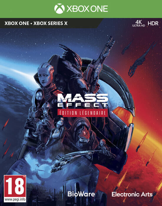 jaquette Mass Effect Edition Légendaire
