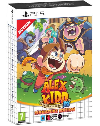 jaquette Alex Kidd In Miracle World Dx Signature Edition