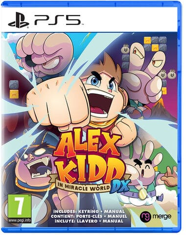 jaquette Alex Kidd In Miracle World Dx