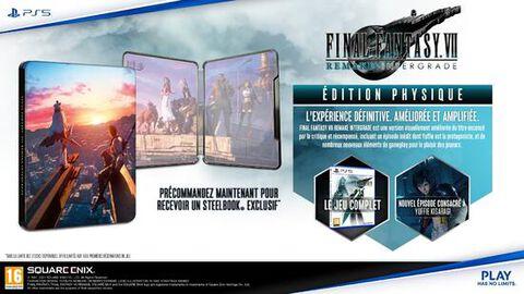 jaquette Final Fantasy VII Remake Intergrade