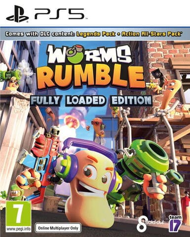 jaquette Worms Rumble Fully Loaded Edition